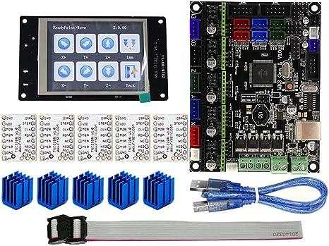 ZREAL para MKS Gen L Compatible con Pantalla LCD TFT32 Soporte Kit ...