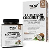 WOW Extra Virgin Coconut Oil - 60 Softgel Capsules