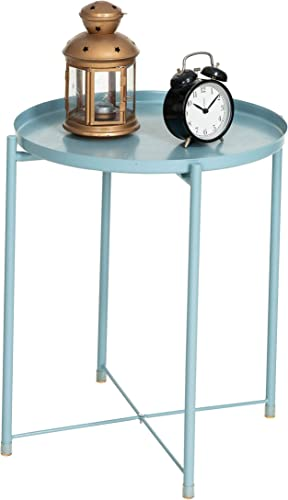 Lomani Tray Metal End Table