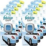 Febreze 2 amL (0.06 FL OZ) Car Vent Clips Air Freshener and Odor Eliminator, Linen and Sky Scent - 8 Pieces