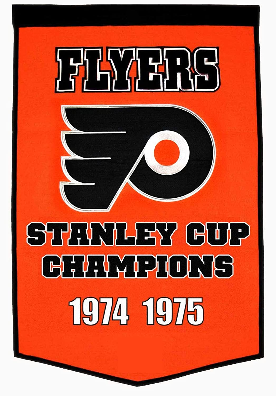Philadelphia Flyers Bedroom Amazoncom Nhl Philadelphia Flyers Dynasty Banner Sports Fan