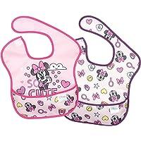 Bumkins Disney Minnie Mouse SuperBib, 6-24 Mths+, 2ct