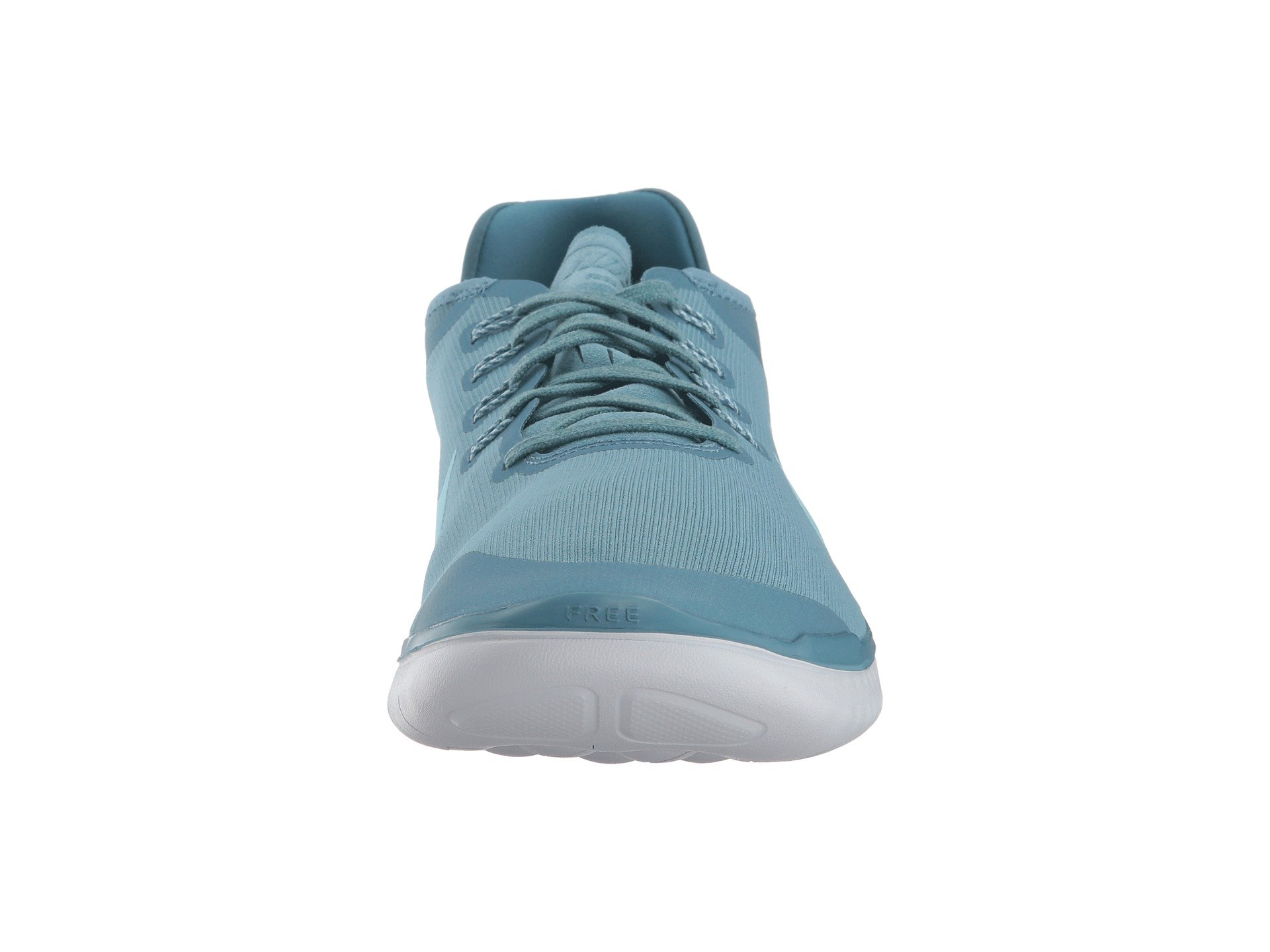 Nike Free RN 2018 Sun Running Shoe (8 D(M) US, Noise Aqua/Pure Platinum) by Nike (Image #5)