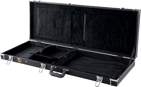 Rocktile 31353 Deluxe - Maleta de guitarra eléctrica: Amazon.es: Instrumentos musicales