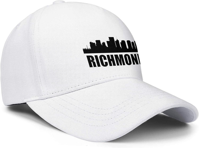 Baseball Cap Virginia Richmond VA Snapbacks Truker Hats Unisex Adjustable Fashion Cap