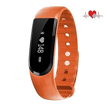 Bracelet intelligent COOSA Montre Connectée Avec Écran Tactile Fitness Tracker Podomètre Calories Sommeil Fréquence Cardiaque Rappel
