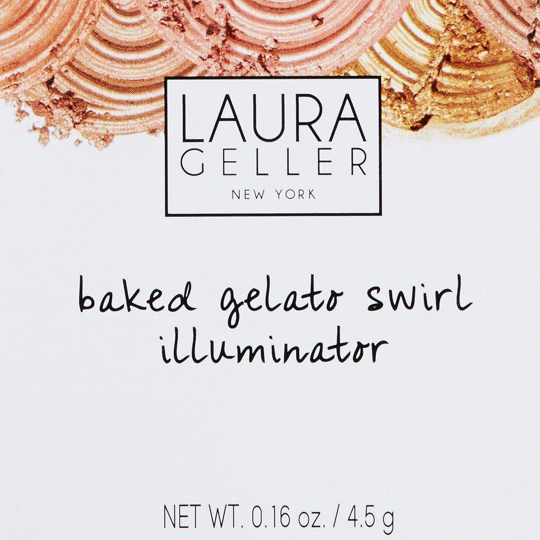 Laura Geller Baked Gelato Swirl Illuminator - Gilded Honey by LAURA GELLER NEW YORK (Image #4)