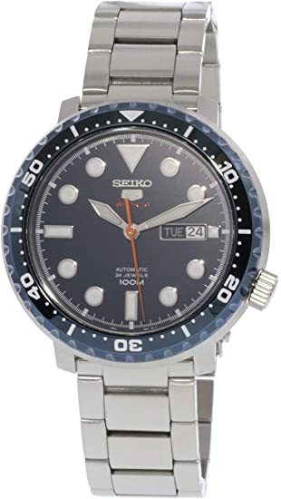 Seiko Reloj Analógico para Hombre de Automático con Correa en Acero Inoxidable SRPC63K1