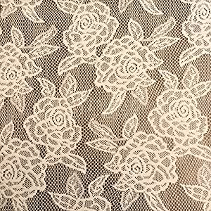 belle tan lace fabric dress lace fabric by the yard or wholesale 1 yard. Black Bedroom Furniture Sets. Home Design Ideas