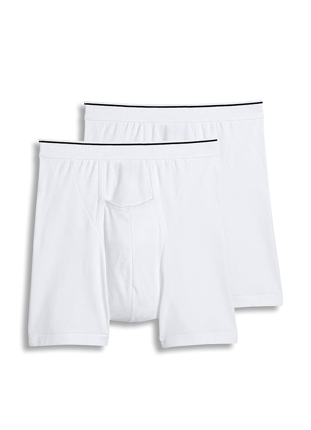 Jockey Men's Underwear Big Man Pouch Boxer Brief - 2 Pack