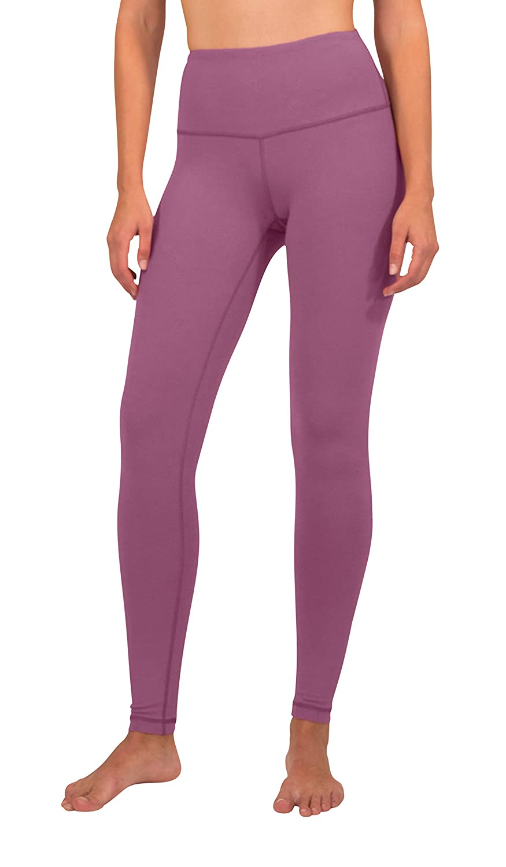 Candy bluesh Yogalicious High Waist Ultra Soft Lightweight Leggings   High Rise Yoga Pants