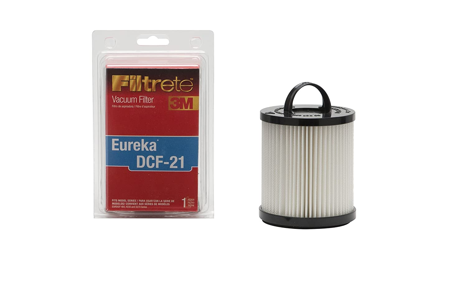 3M Eureka DCF-21 Allergen Vacuum Filter, 1, Red
