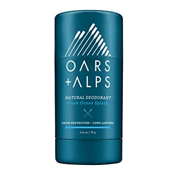 Oars + Alps Natural Deodorant | Fresh Scent, Aluminum-Free, Alcohol-Free,  Fights Odor  2 6 oz
