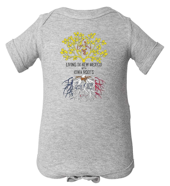 Tenacitee Babys Living in Mexico Iowa Roots Shirt