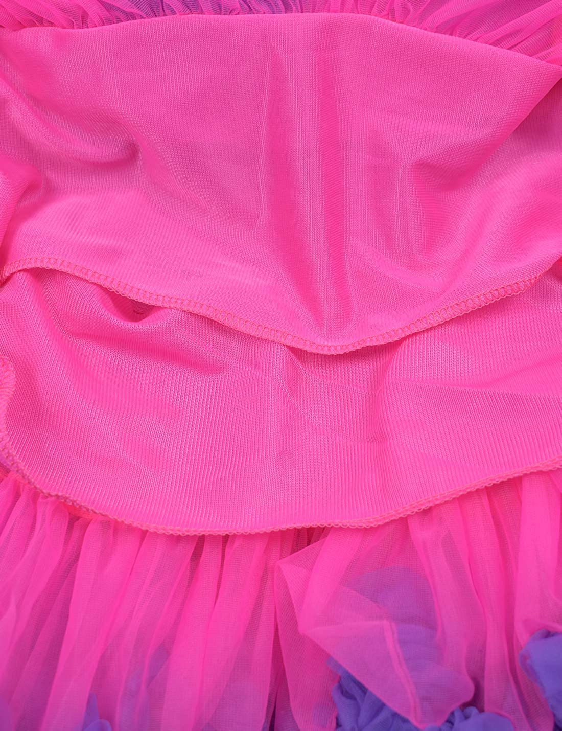 Baby Girls Fluffy Tutu Skirt Toddler Tulle Birthday Party Tiered ...