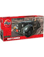 Hornby Airfix Monty's Humber Snipe Staff Car Building Kit, 1:32 Scale