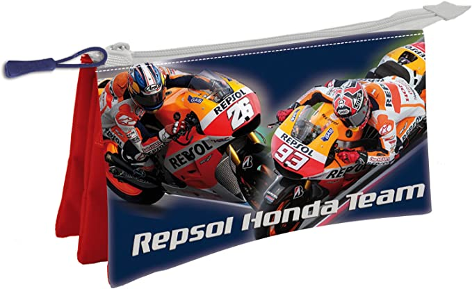 Repsol-Honda - Portatodo Triple (Copy 241671): Amazon.es: Juguetes y juegos