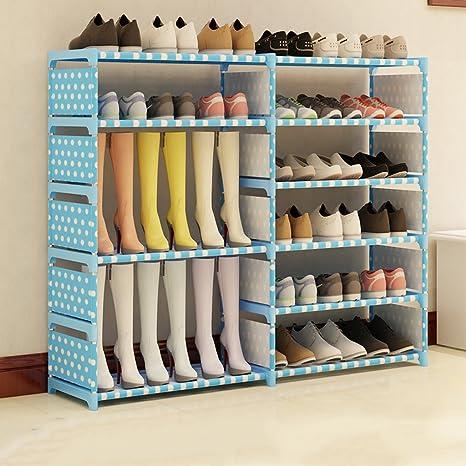 HYLR simple gran nivel 6 zapatero organizador de almacenamiento almacenamiento de zapatos gabinete hogar dormitorio sala