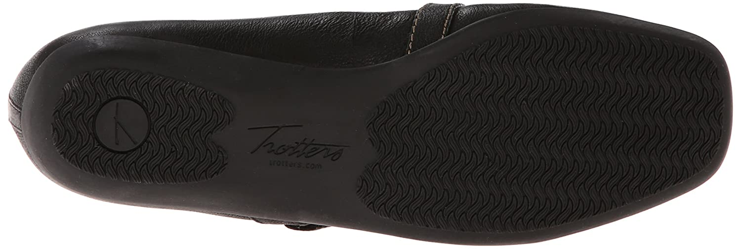 Trotters Women's Simmy Mary Jane US|Black Flat B00HQ1HSJW 12 N US|Black Jane 014f6e