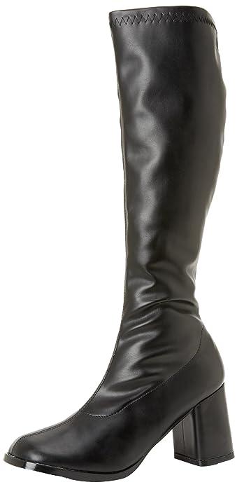 1a4039e8ab3 Amazon.com: Funtasma Women's Gogo 300/B/PU Boot,Black Polyurethane,5 ...