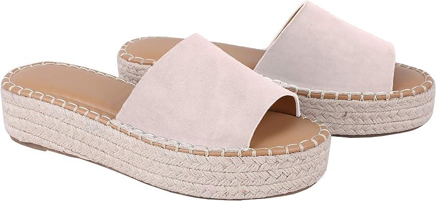 Flat Platform Open Toe Summer Sandals