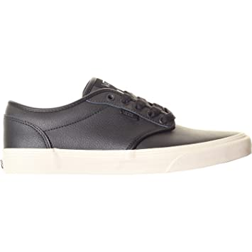 Vans Atwood Shoes (Leather) Black Turtledove UK 11  Amazon.co.uk ... a81985891