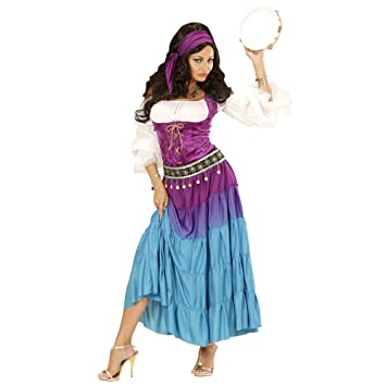 48b654ee5 WIDMANN Disfraz de gitana bailarina para mujer talla grande - XL ...