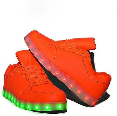 Envio 24 Horas Usay like Zapatillas LED con 7 Colores Luces Carga ...
