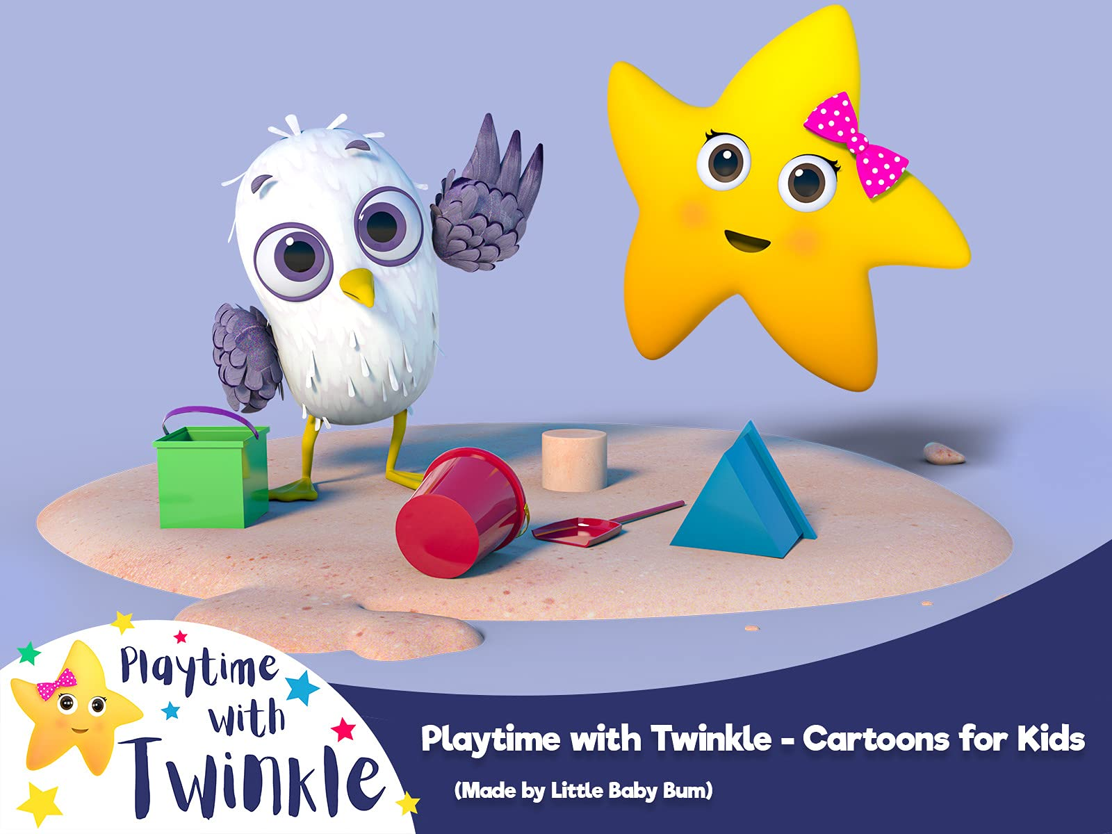 Playtime with Twinkle - Cartoons for Kids (Made by Little Baby Bum) on Amazon Prime Video UK