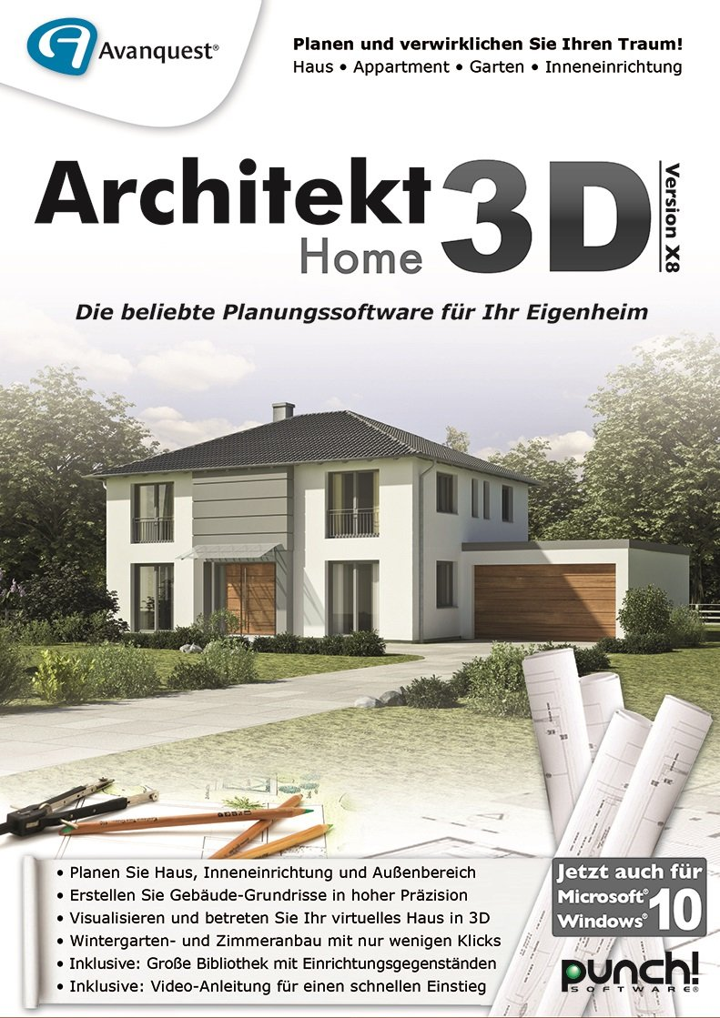 Architekt 3d X8 Home Pc Download Amazonde Software