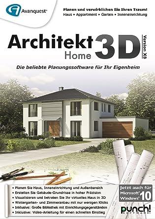 Architekt 3D X8 Home [PC Download]: Amazon.de: Software