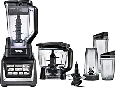 Nutri Ninja Nutrient Extractor Processor, Black & Chrome, BL682ANZMN