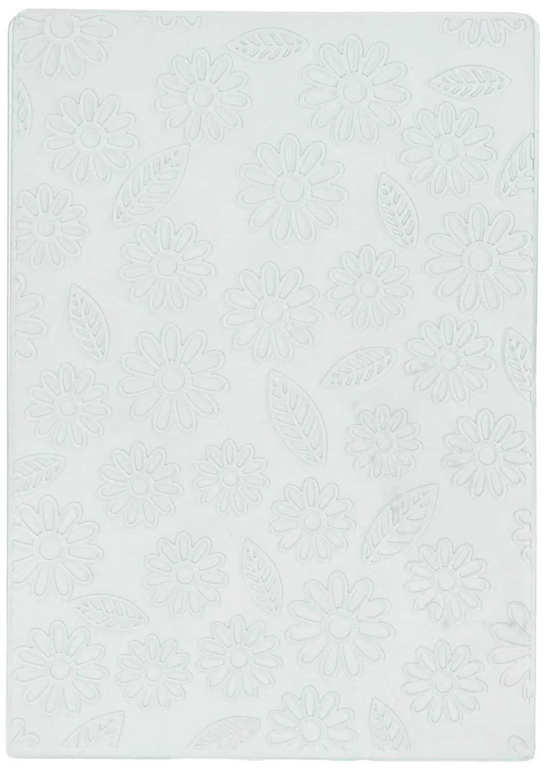 Nellies Choice Embossing Folders Flowers and Leaves