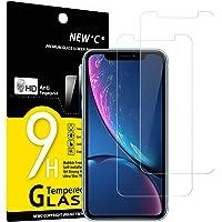 """NEW'C 2-Stuks, Screen Protector voor iPhone 11, iPhone XR (6.1""""), Gehard Glass Schermbeschermer Film 0.33 mm ultra…"""