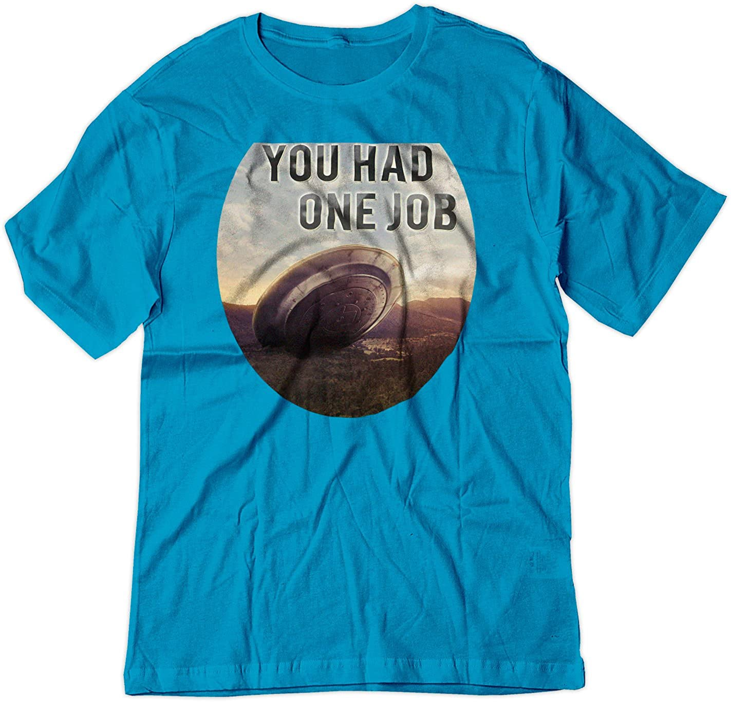 Outer Space UFO Iron On T-Shirt Transfer Print