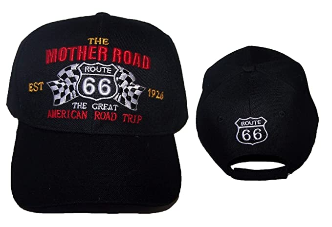 882e3de0ed7b9 Image Unavailable. Image not available for. Color  Route 66 The Mother Road  Baseball Caps ...