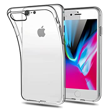 coque iphone 8 rabat transparant tactile