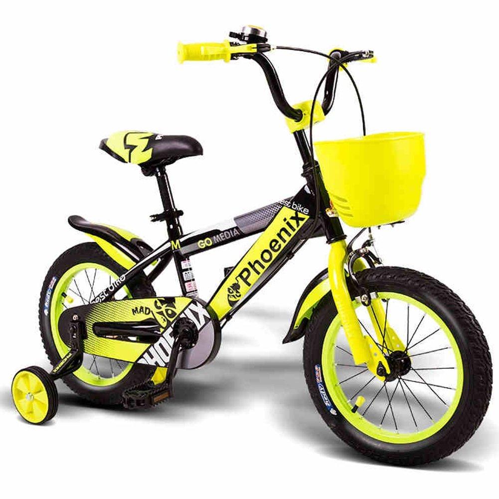 XQ TL-125子供の自転車3-13歳の少年少女高炭素鋼の子供の自転車安定した快適なピアノ塗料 子ども用自転車 Length-120cm  B07CFQLV6P