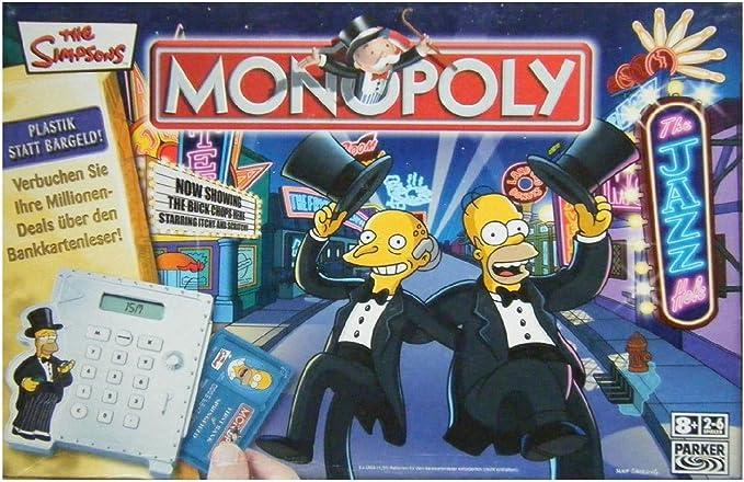 Hasbro Parker 40048100 - Monopoly de Los Simpsons: Amazon.es: Juguetes y juegos