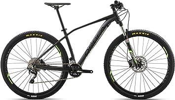 Bicicleta de montaña Orbea Alma H50, negra-verde, con marco ...