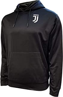 Icon Sports Men Compatible with Juventus Jacket Officially Licensed Pullover Soccer Hoodie EX-Large 023