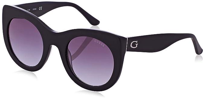 GUESS GU7485, Gafas de Sol para Mujer, Negro (Nero), 51