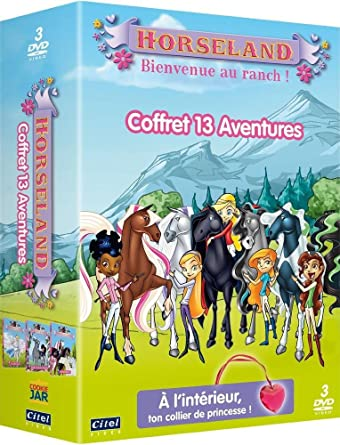 Horseland Bienvenue Au Ranch Coffret 13 Aventures