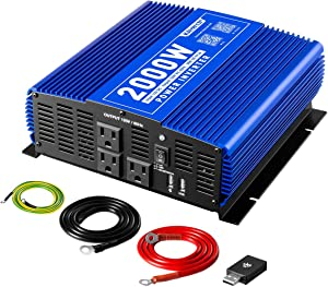 Kinverch 2000W Continuous/ 4000W Peak Power Inverter