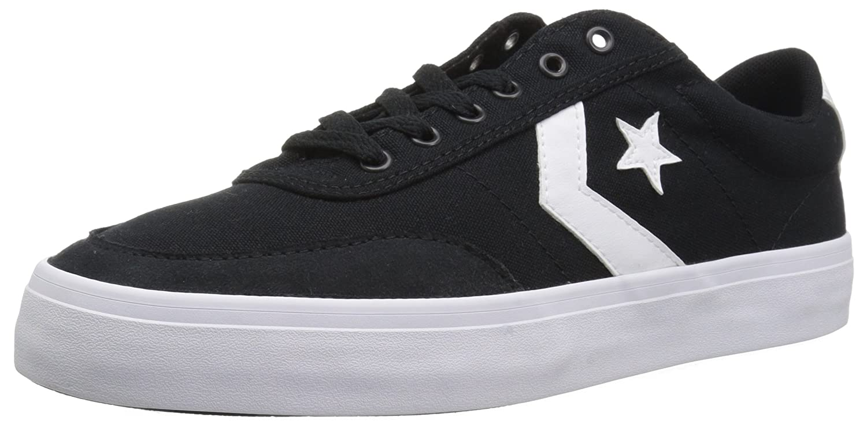 Converse Lifestyle Courtlandt Ox, Zapatillas Unisex Adulto 40 EU|Negro (Black/White/Black 001)