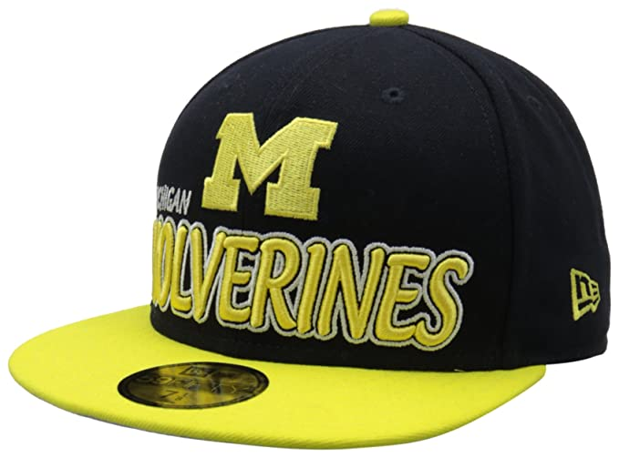 info for 43e7b 33a2c ... cheap ncaa michigan wolverines ne tight 59fifty fitted cap navy yellow  634 0c337 b89e6