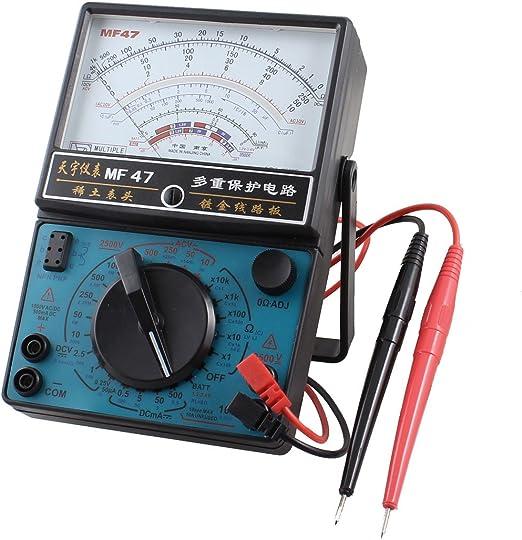 Ac Dc Spannungswiderstand Messgerät Analog Multimeter Mf47 Baumarkt