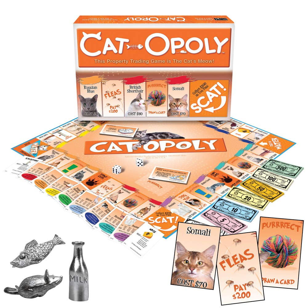 Late for the Sky Cat-Opoly by Late for the Sky