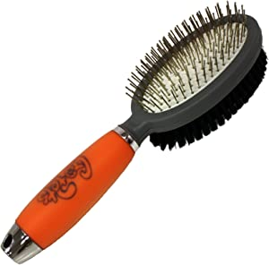 GoPets Double-Sided Pin and Bristle Brush