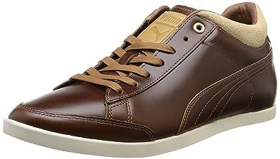 5b8c1e78a2f5 Puma Tarrytown, Chaussures de Ville Homme - Marron (Dachshund/White Swan),